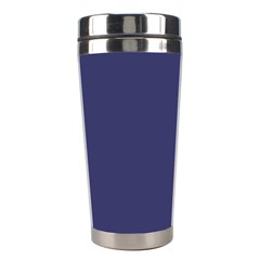 Usa Flag Blue Royal Blue Deep Blue Stainless Steel Travel Tumblers by PodArtist