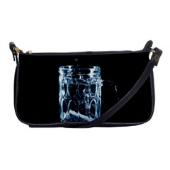 Glass Water Liquid Background Shoulder Clutch Bags by BangZart