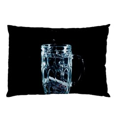 Glass Water Liquid Background Pillow Case (two Sides) by BangZart