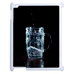 Glass Water Liquid Background Apple Ipad 2 Case (white) by BangZart