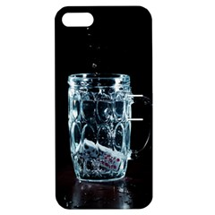 Glass Water Liquid Background Apple Iphone 5 Hardshell Case With Stand by BangZart
