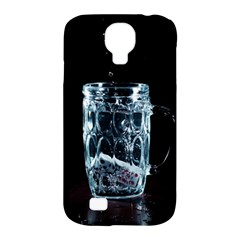 Glass Water Liquid Background Samsung Galaxy S4 Classic Hardshell Case (pc+silicone) by BangZart