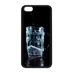 Glass Water Liquid Background Apple Iphone 5c Seamless Case (black) by BangZart