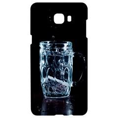 Glass Water Liquid Background Samsung C9 Pro Hardshell Case  by BangZart