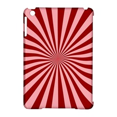 Sun Background Optics Channel Red Apple Ipad Mini Hardshell Case (compatible With Smart Cover) by BangZart