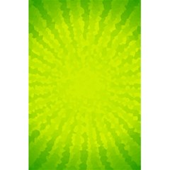 Radial Green Crystals Crystallize 5 5  X 8 5  Notebooks by BangZart