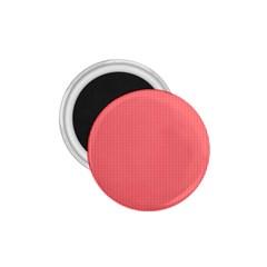Christmas Red Velvet Mini Gingham Check Plaid 1 75  Magnets by PodArtist