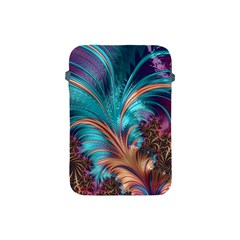 Feather Fractal Artistic Design Apple Ipad Mini Protective Soft Cases by BangZart