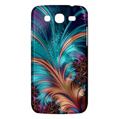 Feather Fractal Artistic Design Samsung Galaxy Mega 5 8 I9152 Hardshell Case  by BangZart