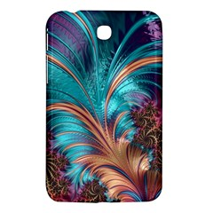 Feather Fractal Artistic Design Samsung Galaxy Tab 3 (7 ) P3200 Hardshell Case  by BangZart