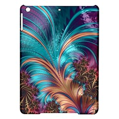 Feather Fractal Artistic Design Ipad Air Hardshell Cases by BangZart