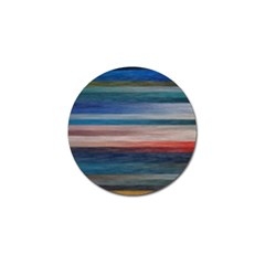 Background Horizontal Lines Golf Ball Marker (4 Pack) by BangZart