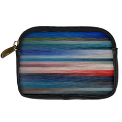 Background Horizontal Lines Digital Camera Cases by BangZart