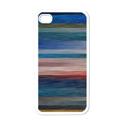 Background Horizontal Lines Apple Iphone 4 Case (white) by BangZart