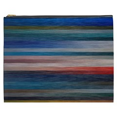 Background Horizontal Lines Cosmetic Bag (xxxl)  by BangZart