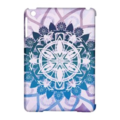 Mandalas Symmetry Meditation Round Apple Ipad Mini Hardshell Case (compatible With Smart Cover) by BangZart