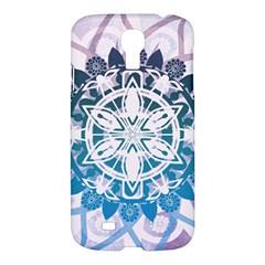 Mandalas Symmetry Meditation Round Samsung Galaxy S4 I9500/i9505 Hardshell Case by BangZart