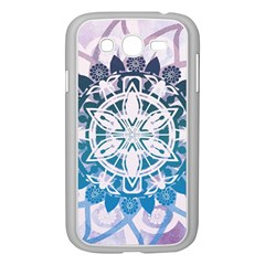 Mandalas Symmetry Meditation Round Samsung Galaxy Grand Duos I9082 Case (white) by BangZart