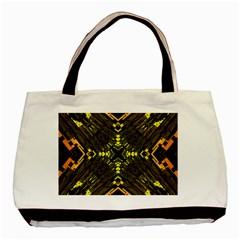 Abstract Glow Kaleidoscopic Light Basic Tote Bag by BangZart
