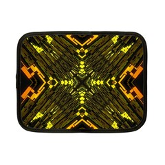 Abstract Glow Kaleidoscopic Light Netbook Case (small)  by BangZart