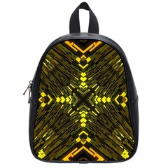 Abstract Glow Kaleidoscopic Light School Bags (small)  by BangZart