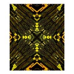 Abstract Glow Kaleidoscopic Light Shower Curtain 60  X 72  (medium)  by BangZart