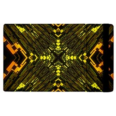 Abstract Glow Kaleidoscopic Light Apple Ipad 2 Flip Case by BangZart