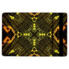 Abstract Glow Kaleidoscopic Light Ipad Air Flip by BangZart