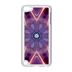 Abstract Glow Kaleidoscopic Light Apple Ipod Touch 5 Case (white) by BangZart