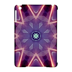 Abstract Glow Kaleidoscopic Light Apple Ipad Mini Hardshell Case (compatible With Smart Cover) by BangZart