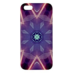 Abstract Glow Kaleidoscopic Light Iphone 5s/ Se Premium Hardshell Case by BangZart