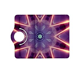 Abstract Glow Kaleidoscopic Light Kindle Fire Hd (2013) Flip 360 Case by BangZart