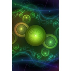 Retrotacular Rainbow Dots In A Fractal Microscope 5 5  X 8 5  Notebooks by beautifulfractals