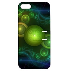 Retrotacular Rainbow Dots In A Fractal Microscope Apple Iphone 5 Hardshell Case With Stand by beautifulfractals
