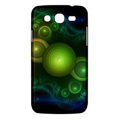 Retrotacular Rainbow Dots In A Fractal Microscope Samsung Galaxy Mega 5 8 I9152 Hardshell Case  by beautifulfractals