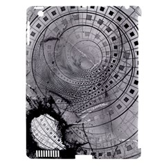 Fragmented Fractal Memories And Gunpowder Glass Apple Ipad 3/4 Hardshell Case (compatible With Smart Cover) by beautifulfractals