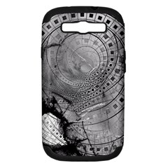 Fragmented Fractal Memories And Gunpowder Glass Samsung Galaxy S Iii Hardshell Case (pc+silicone) by beautifulfractals