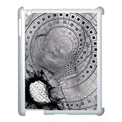 Fragmented Fractal Memories And Gunpowder Glass Apple Ipad 3/4 Case (white) by beautifulfractals