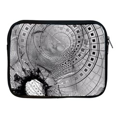 Fragmented Fractal Memories And Gunpowder Glass Apple Ipad 2/3/4 Zipper Cases by beautifulfractals
