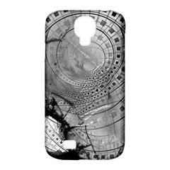 Fragmented Fractal Memories And Gunpowder Glass Samsung Galaxy S4 Classic Hardshell Case (pc+silicone) by beautifulfractals