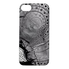 Fragmented Fractal Memories And Gunpowder Glass Apple Iphone 5s/ Se Hardshell Case by beautifulfractals