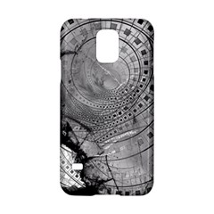 Fragmented Fractal Memories And Gunpowder Glass Samsung Galaxy S5 Hardshell Case  by beautifulfractals