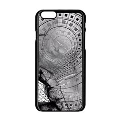 Fragmented Fractal Memories And Gunpowder Glass Apple Iphone 6/6s Black Enamel Case by beautifulfractals