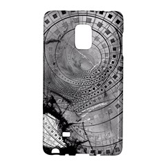 Fragmented Fractal Memories And Gunpowder Glass Galaxy Note Edge by jayaprime