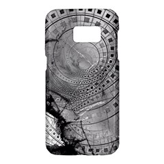 Fragmented Fractal Memories And Gunpowder Glass Samsung Galaxy S7 Hardshell Case  by jayaprime