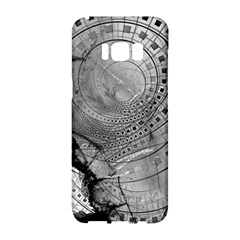 Fragmented Fractal Memories And Gunpowder Glass Samsung Galaxy S8 Hardshell Case  by jayaprime