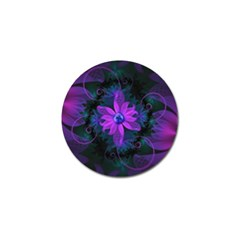 Beautiful Ultraviolet Lilac Orchid Fractal Flowers Golf Ball Marker (10 Pack) by beautifulfractals