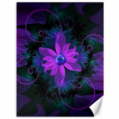 Beautiful Ultraviolet Lilac Orchid Fractal Flowers Canvas 36  X 48   by beautifulfractals