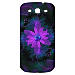 Beautiful Ultraviolet Lilac Orchid Fractal Flowers Samsung Galaxy S3 S Iii Classic Hardshell Back Case by beautifulfractals