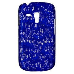 Glossy Abstract Blue Galaxy S3 Mini by MoreColorsinLife